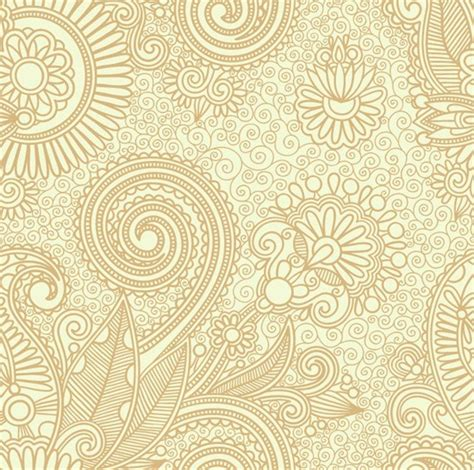 free indian pattern background abstract seamless floral pattern background free vector