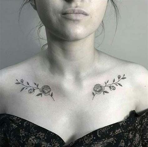 rose tattoos on collar bone collarbone k 246 pr 252 c 252 k kemiği g 252 l d 246 vmesi g 252 l