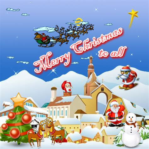 happy xmas  friends ecards greeting cards
