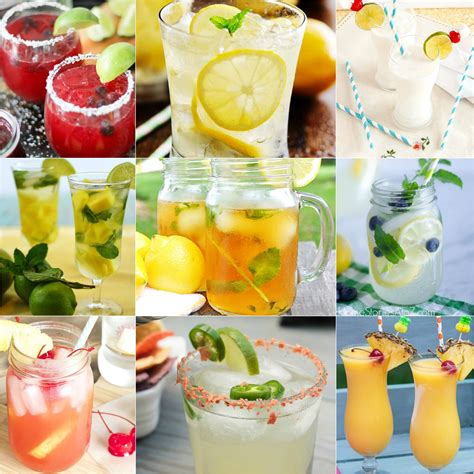 summer cocktail recipes 20 delicious summer cocktail recipes