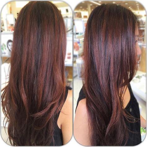 auburn hair color with highlights 17 best ideas about auburn hair highlights on