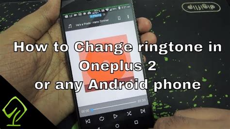 how to change ringtone android how to change ringtone in oneplus 2 or any android phone