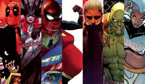 imagenes universo marvel personajes y series del nuevo universo marvel cultture