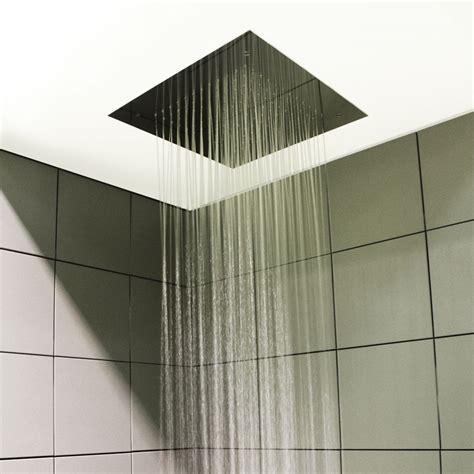 incasso controsoffitto soffione doccia per installazione ad incasso a