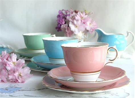 Classic Lovely Tea Sets by Vintage Simplicity The Charm Of Plain Tea Sets Nancy S