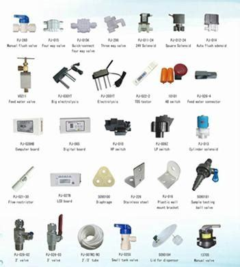 Spare Part Ro the spare parts of domestic ro water purifier pj 001