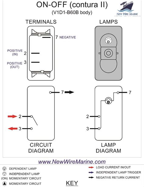 lighted rocker switch wiring diagram dejual
