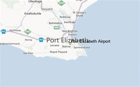 port elizabeth airport weather station record historical