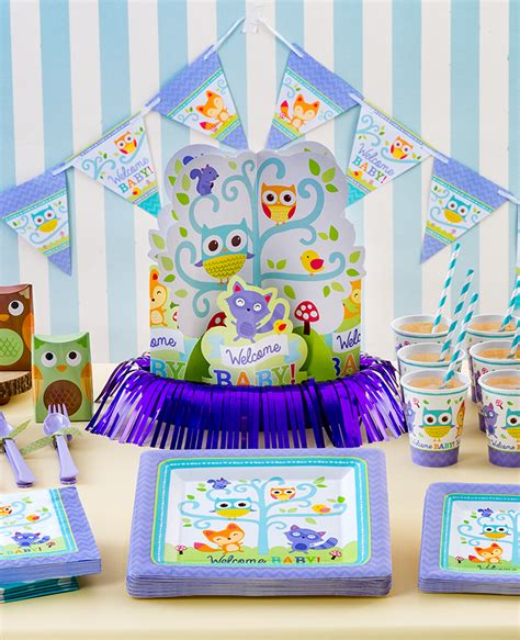 Woodland Baby Shower Supplies by The Best Baby Shower Themes Of 2017 Delights