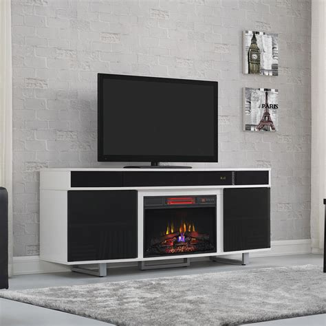 infrared fireplace media center enterprise infrared electric fireplace entertainment