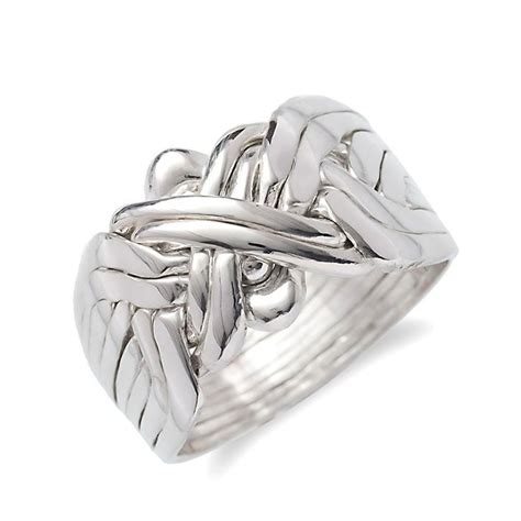 26 best turkish silver puzzle rings images on