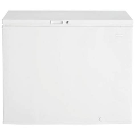 frigidaire 8 8 cu ft chest freezer in white ffc0923dw