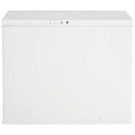 frigidaire 8 8 cu ft chest freezer in white ffc0923dw