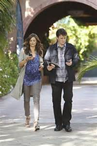 Stana katic and nathan fillion in castle season 3 quot to love and die
