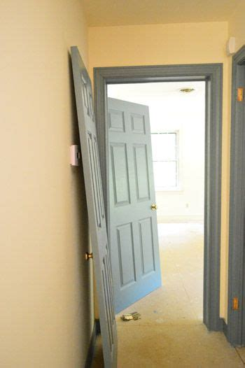 best white paint color for trim and doors buh bye blue trim