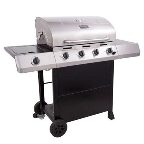 char broil classic 4 burner stainless steel propane gas