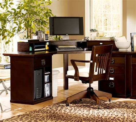 bedford corner desk set