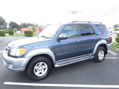 2006 Toyota Sequoia Towing Capacity 2002 Toyota Sequoia Photos Informations Articles