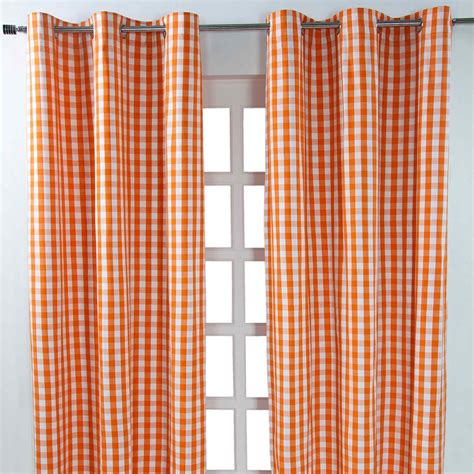 striped cotton curtains homescapes cotton striped checked curtains ready made