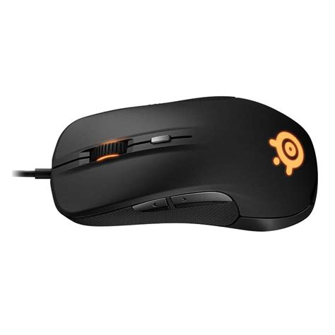 Steelseries Rival 300 Black Hitam steelseries rival 300 optical gaming mouse black 62351 mwave au
