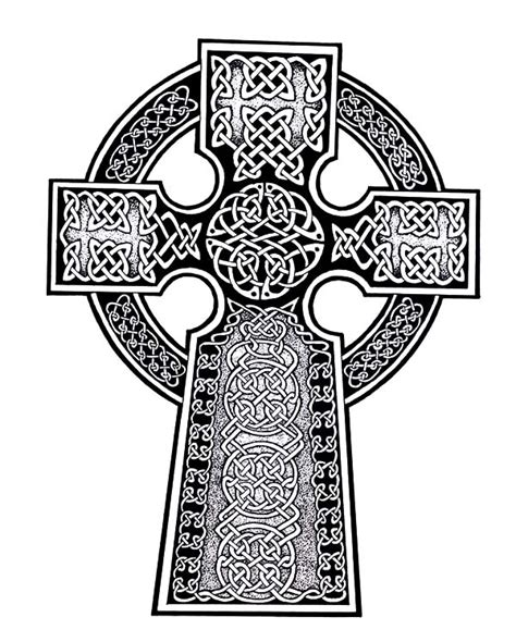 abstract cross coloring pages free coloring pages of celtic cross