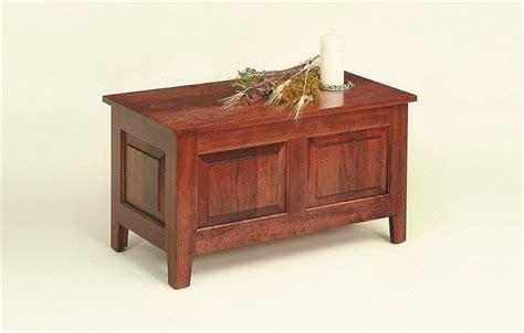 Handmade Cherry Furniture - amish cherry chest