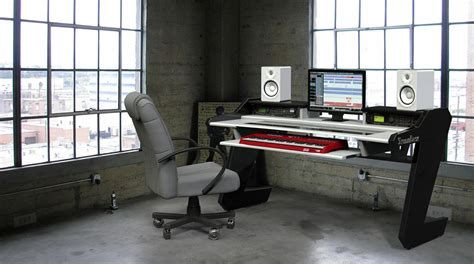 studio desk workstation beat desk all black studio desk workstation furniture