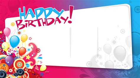 gimp templates birthday card birthday templates 5 elrey de bodas