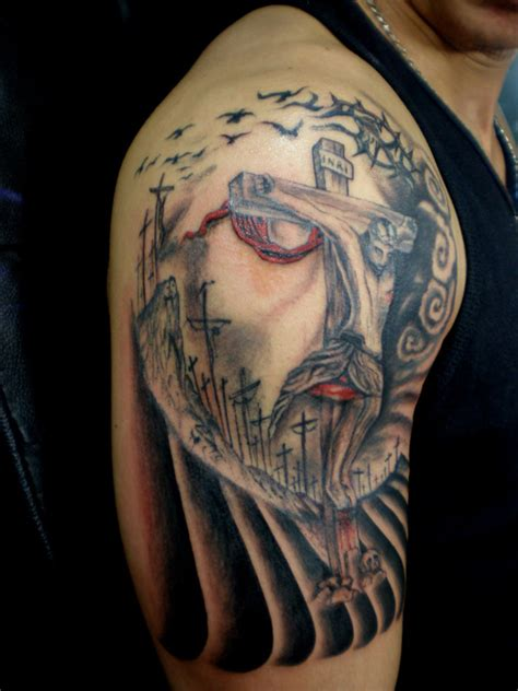 optical illusions tattoos 30 amazing jesus optical illusion collection slodive