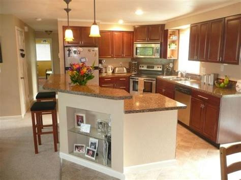 Split Foyer Kitchen Remodel by 4 Cabinets And Islands On