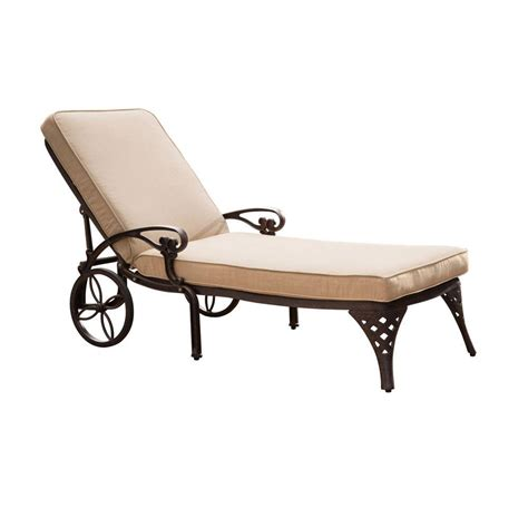 deck chaise lounge hton bay fall river adjustable patio chaise lounge with