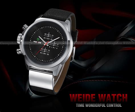 Weide Japan Quartz Miyota Wh3302 Jam Tangan Kulit Pria Original weide japan quartz miyota leather sports 30m water resistance wh3305 silver black