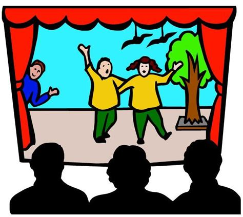 clipart teatro acting clipart