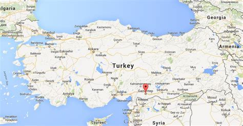 gaziantep map where is gaziantep on map turkey world easy guides