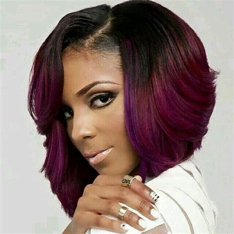 african american hair cuts real short on onw side longer on the orher side 15 chic short bob hairstyles black women haircut designs