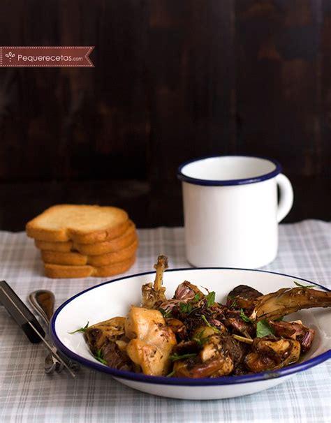 como cocinar un conejo al ajillo conejo al ajillo receta f 225 cil de conejo al ajillo en 4