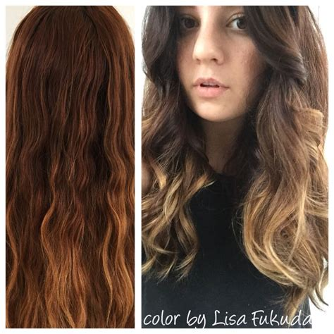 what colour are lisa rinnas hilites blonde soft ombr 233 balayage highlights corrective color by