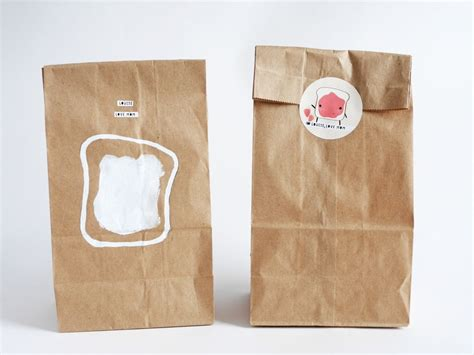 How To Make A Paper Lunch Bag - diy custom your own brown paper lunch bag