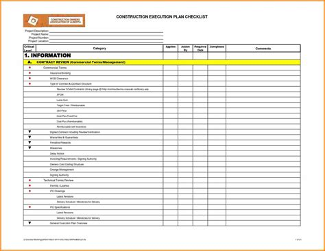 excel task list template 10 checklist in excel resume reference