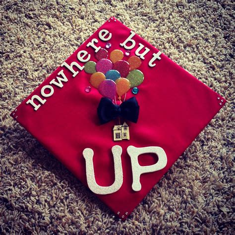 What To Use To Decorate Graduation Cap by Up Is A Popular Reference For Decorated Graduation Caps