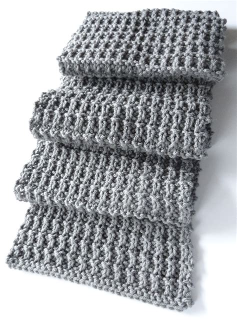 mens knitted scarf patterns ridge rib scarf 2 purl avenue