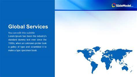 mechanical design company profile blue company profile business powerpoint template slidemodel