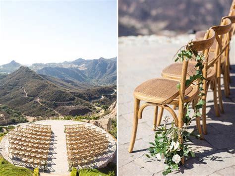 malibu winery wedding venues hilltop vineyard wedding at malibu rocky oaks kristin
