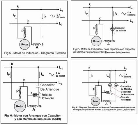 conexion capacitor motor monofasico solucionado conexi 243 n de capacitadores arranque y marcha a un motor comp yoreparo