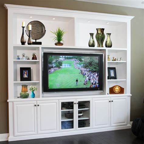 entertainment centers amp built in niches transitional