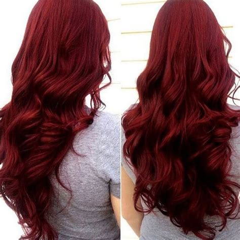 hairstyles for dyed red hair red hairstyles for long hair best 25 long red hair ideas