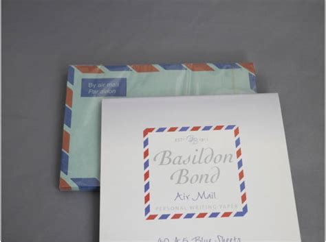 basildon bond writing paper buy basildon bond air mail writing paper envelopes