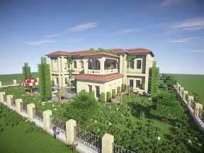 build a mansion california mansion minecraft house design