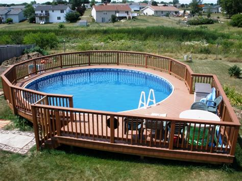 swimming pool decks best materials for a pool fence capital deck and fence