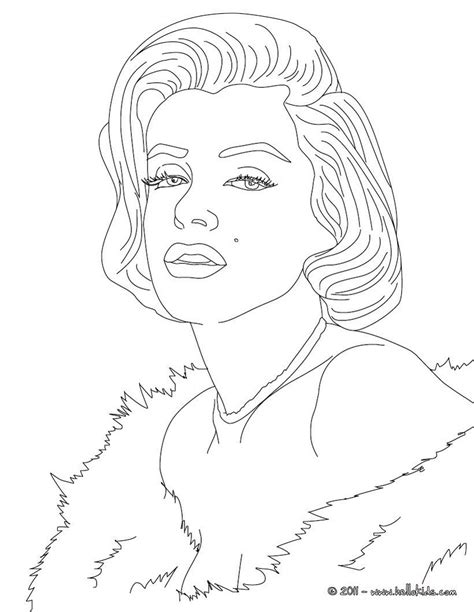 marilyn coloring pages marylin coloring page coloring pages
